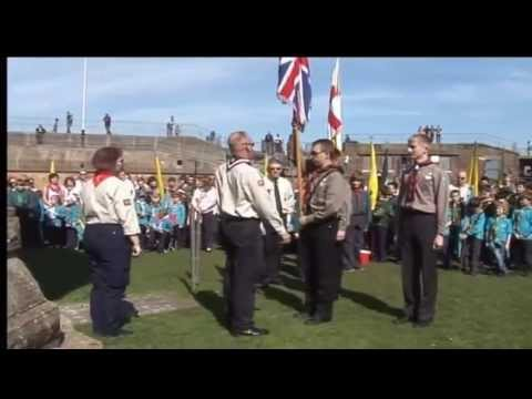 Gravesham Scouts' St George's service