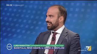 Omnibus - Bankitalia, Renzi insiste. Il cerino a Gentiloni (Puntata 19/10/2017)
