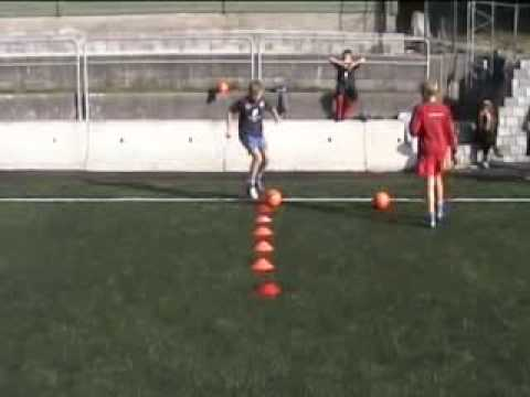 fotballøvelser for barn 7 år