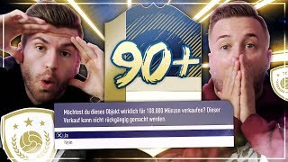 FIFA 18: 90+ ICON DISCARD Squad Builder Battle VS Gamerbrother