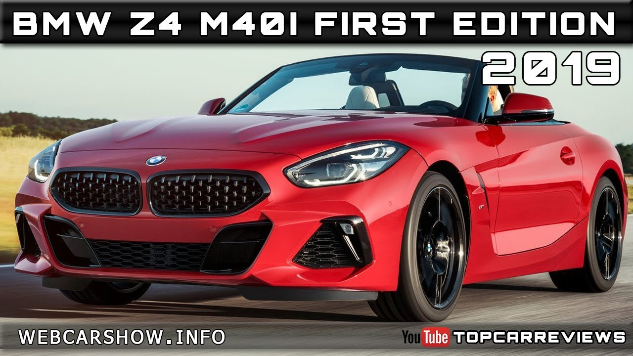 2019 Bmw Z4 M40i First Edition Review Rendered Price Specs