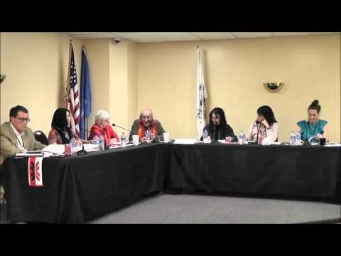 Delaware Tribe of Indians Tribal Council 04192016 pt2