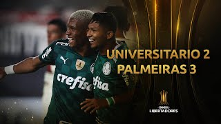 Universitario vs. Palmeiras [2-3]   RESUMEN   Fecha 1 - Fase de Grupos   CONMEBOL Libertadores 2021