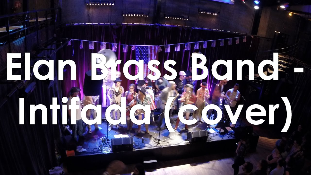 Elan Brass Band - Intifada live // Ska-P cover @Studio de l'Ermitage, Paris