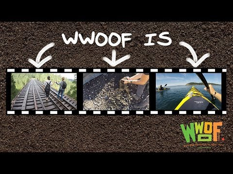 WWOOF is being truly connected...
