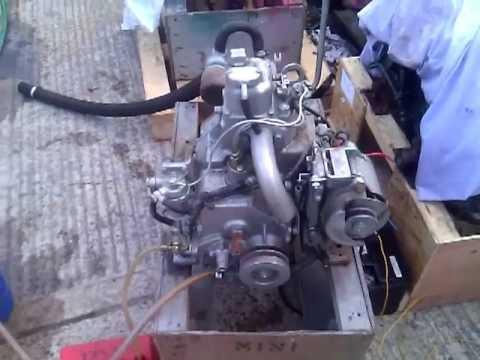 yanmar sb8 8hp marine diesel engine youtube rh youtube com Yanmar Diesel Generator Yanmar Diesel Engine Parts Breakdown