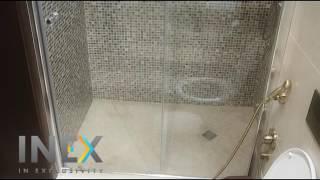Душевая стеклянная перегородка (ограждение) Грация, Инэкс(, 2016-08-16T15:04:45.000Z)