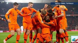 Holanda vence 2-0 a Francia y decreta el descenso de Alemania en la UEFA Nations League