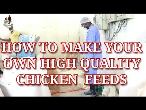 How To Make Your Own High Quality Chicken Feeds