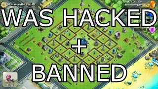 X-War: Clash of Zombies - WAS HACKED AND NOW BANNED...