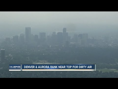 Denver, Aurora Rank Near Top For Most Polluted Cities In The U.S.