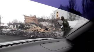 Подрыв БК Донецк Мотель Ураган