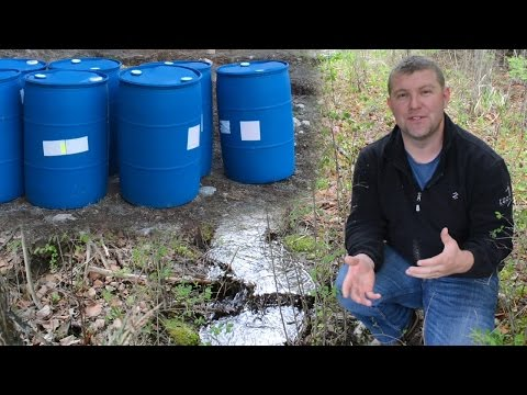 Off Grid Living Water Systems: Rain Water Harvesting, Cisterns, Wells & More