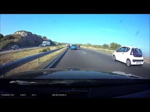 Driving in and around Marseille.. with my dashcam.