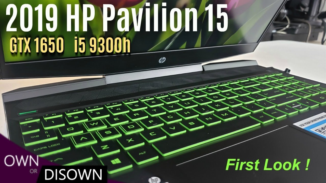 2019 HP PAVILION 15 GAMING IS HERE !!