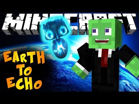 Minecraft: SAVE THE ALIEN! - Earth To Echo Mini-Game