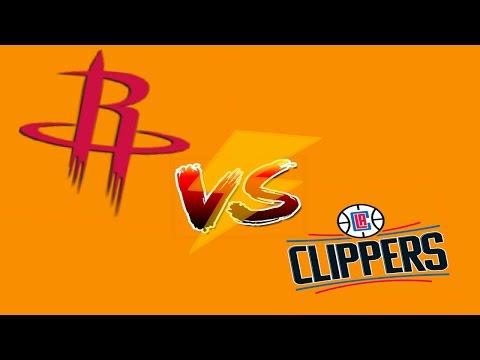 HOUSTON ROCKETS vs LA CLIPPERS ( FULL MATCH HD ) - NBA 16/17 Best Match Ever!