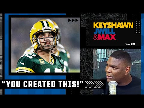 'You created this!' - Keyshawn reacts to Aaron Rodgers' comments about the critics | KJM