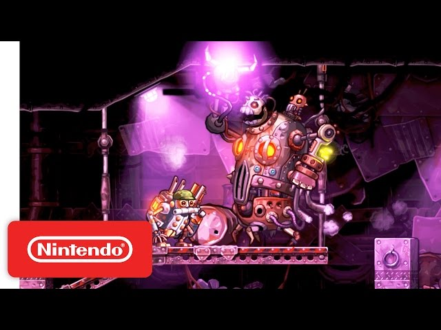 SteamWorld Heist: Wii U Launch Trailer