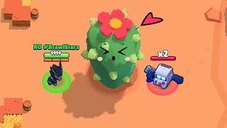 RO CROW ▶ CACTUS ◀ 8 BIT x2 Funny Moments 🌵 Brawl Stars Wins, Trolls, Fails & Glitches