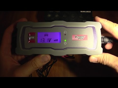 Automatic Car Battery Charger With Pulse Desuphation