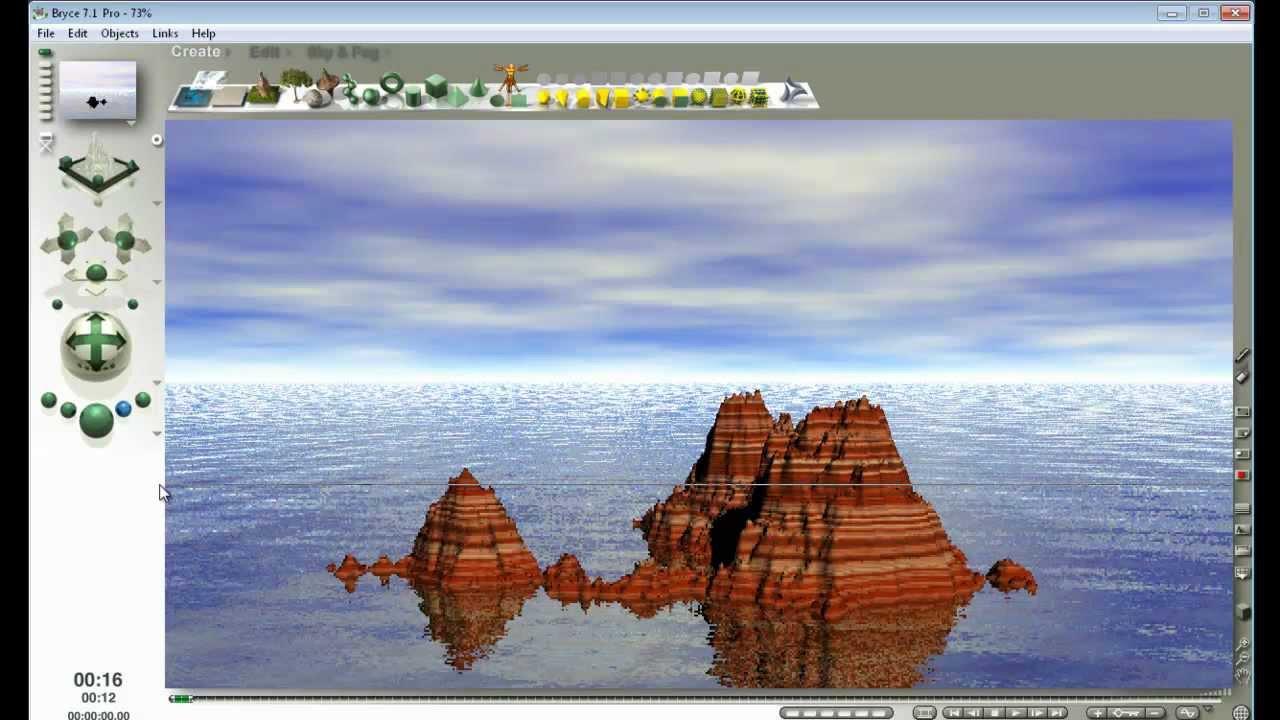 Como hacer paisajes 3d como el de la pelicula avatar en tu for Programa para disenar en 3d en espanol gratis