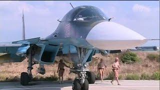 Видео АВИАУДАРОВ ВКС России по ИГИЛ в Сирии Новости 2015