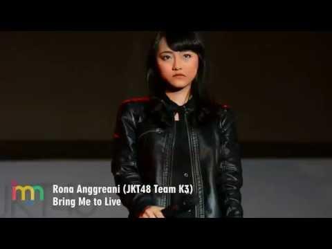 [FANCAM] Rona Anggreani (JKT48 Team K3) - Bring Me to Live (Pareo Adalah Emerald Handshake Festival)