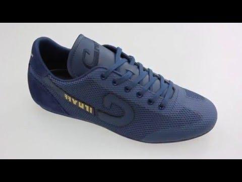 93aea88c3a2 Cruyff VANENBURG blauwe lage sneakers - YouTube