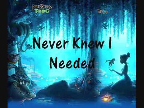 NeYo Princess And The Frog Never Knew I Needed With Lyrics