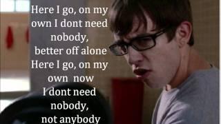 Stronger - Glee Cast - Lyrics