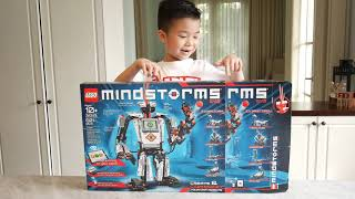 Unboxing and Review Lego Mindstrom EV3 (31313)