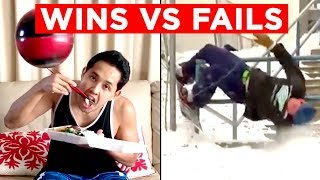 WINS VS FAILS!! | Candid Bloopers From Snapchat, IG, FB And More!! | Mas Supreme