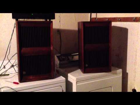 McIntosh ML-1C speakers-First Test!