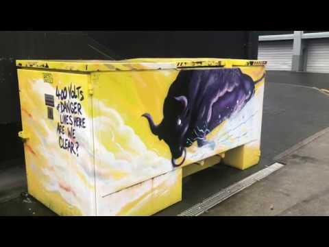 Street Art New Plymouth