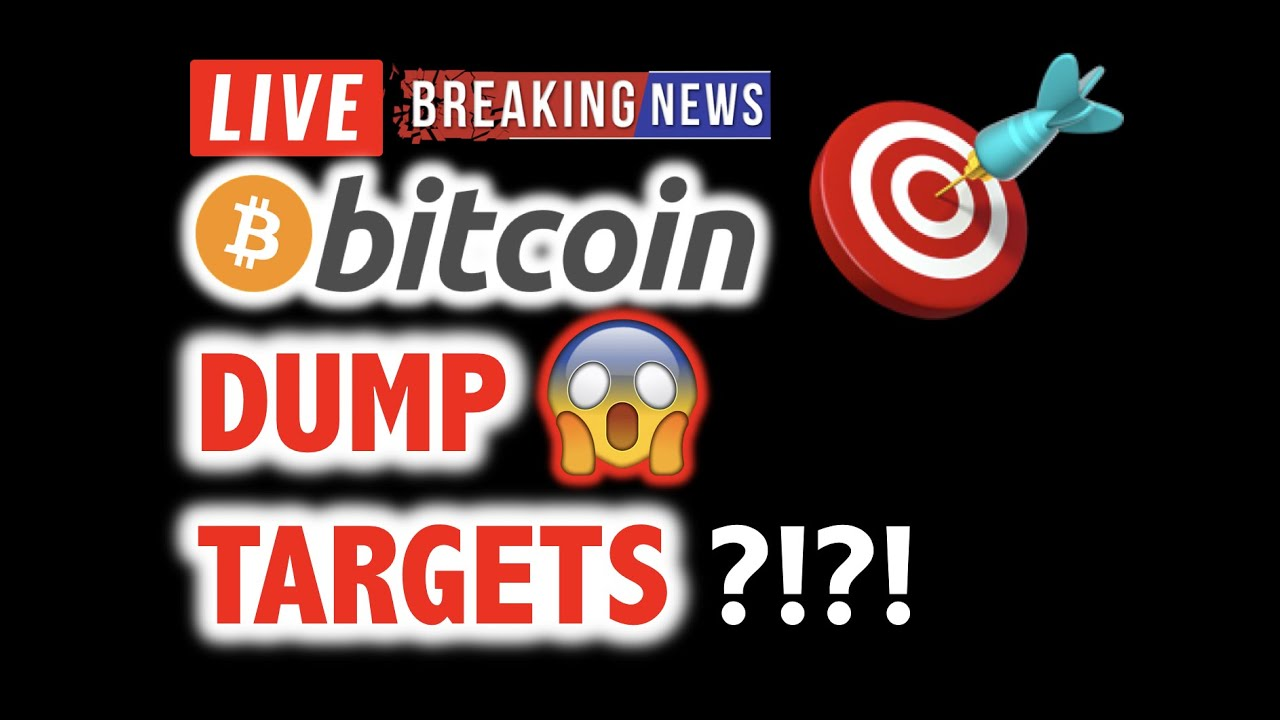 BITCOIN DUMP TARGETS Below $8,000? ?❗️LIVE Crypto Crash Analysis TA & BTC Cryptocurrency Price N