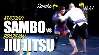 Sambo vs BJJ Brazilian Jiu Jitsu