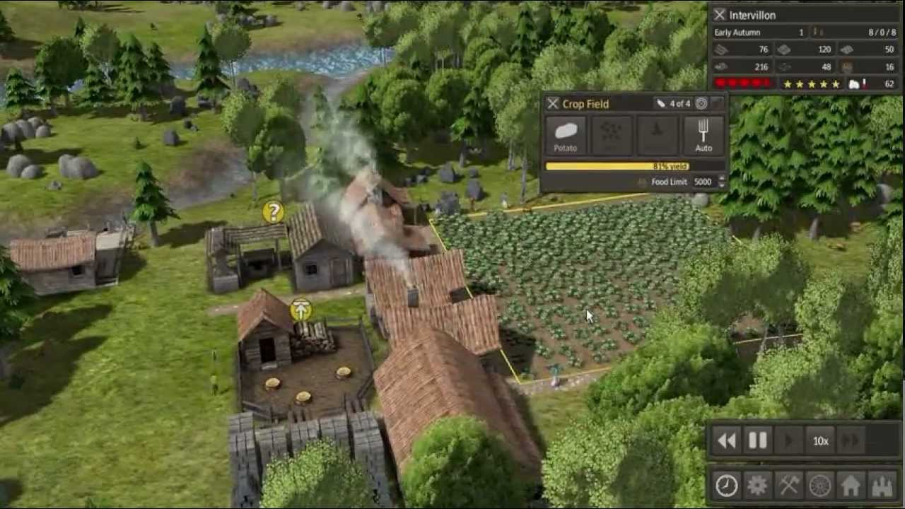 Banished Gameplay Alpha Build Youtube