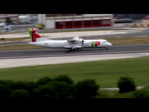 ATR-72-600 TAP Express - Lisbon Airport