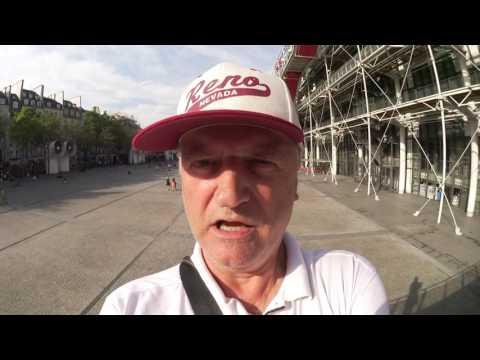 Centre Pompidou tour commentaires Serge de Muller Paris