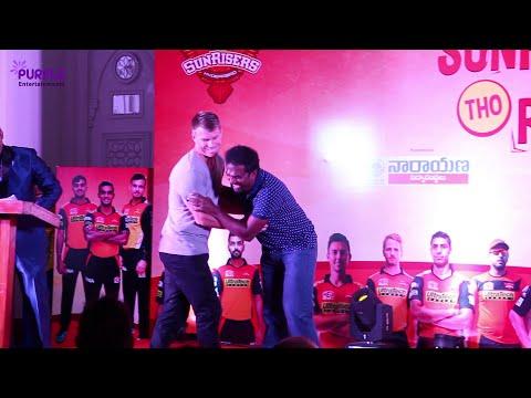 David warner and Muralitharan funny performance -PURPLE ENTERTAINMENTS