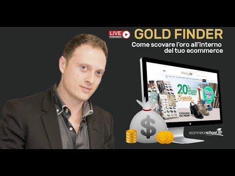 Gold Finder - Trovare l'oro dentro il tuo Ecommerce
