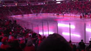 Washington Capitals Intro at Verizon Center