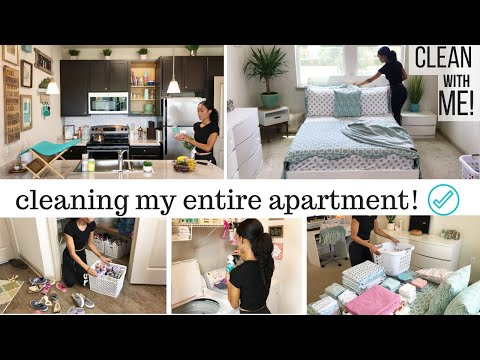 CLEANING MOTIVATION // CLEAN WITH ME 2018  // CLEANING ROUTINE // WHOLE HOUSE CLEANING