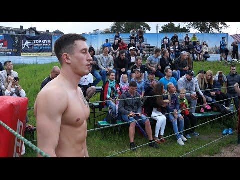 Bodybuilder vs Street Fighter, ( Real Fight)