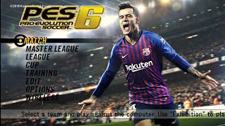 PES 6 MOD PES 2019 Android Offline Best Graphics Pro Evolution Soccer 6