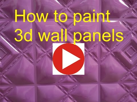 3d wall panels painted, 3d decorative panels
