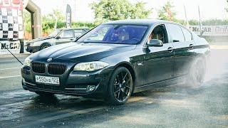 ЧТО МОЖЕТ САМАЯ БЫСТРАЯ BMW 550 против NISSAN GTR 1000 СИЛ!