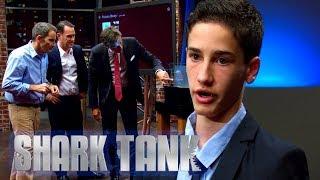 Youngest Entrepreneur In Shark Tank History | Shark Tank AUS