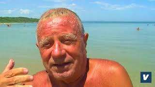 Costanzo Marinucci e la sua  traversata a nuoto per ricordare il salvataggio di 5 persone